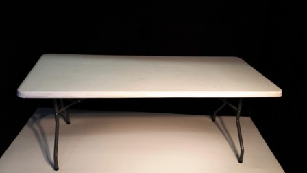 2m x 90cm Trestle Table
