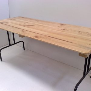 Raw Timber Top Trestle